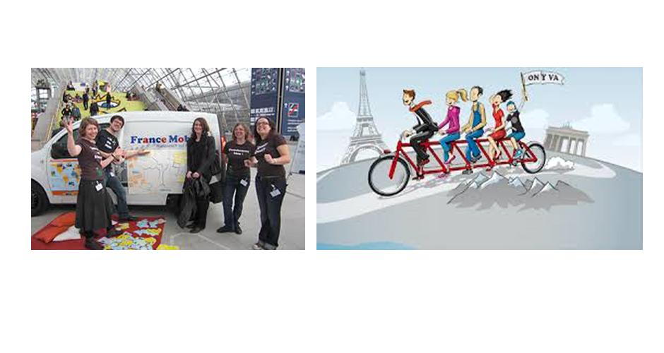 FranceMobil et On y va - Auf geht's