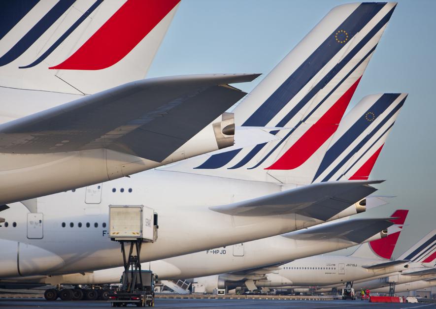 Dérives d'A380 Air France en zone d'embarquement du S3 à CDG 2