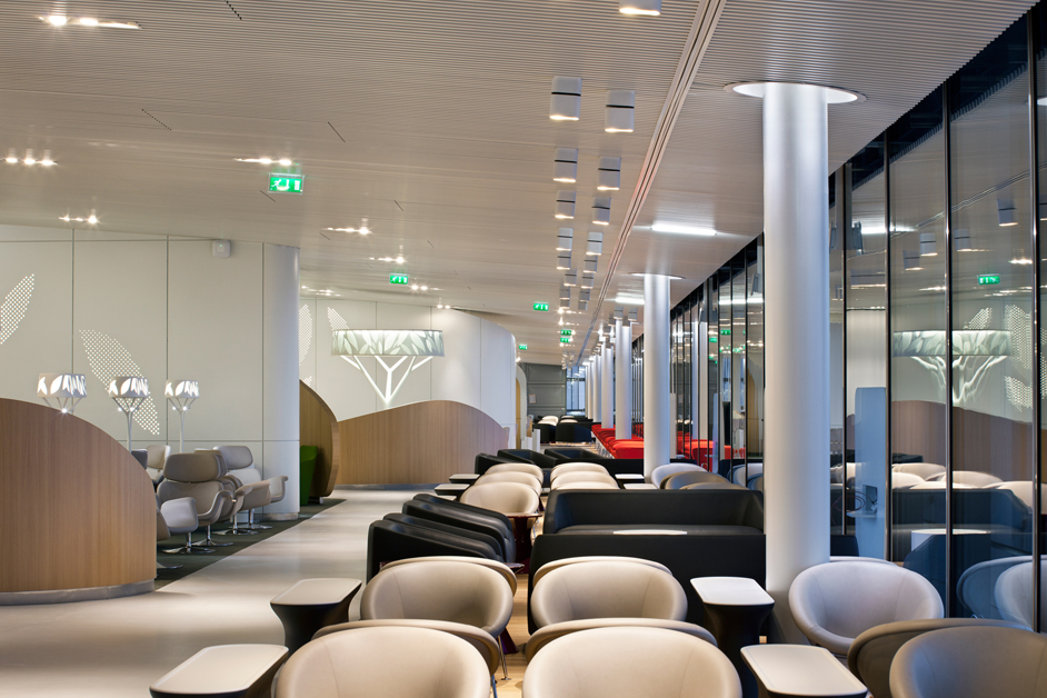 Espace détente au Salon Business Air France du S4 à CDG