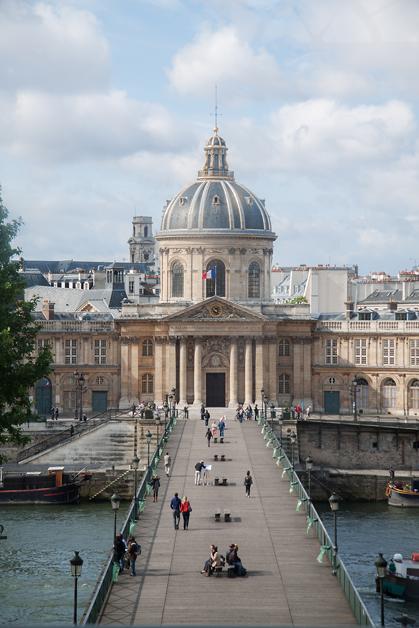 Le Palais de l'Institut depuis le Louvre