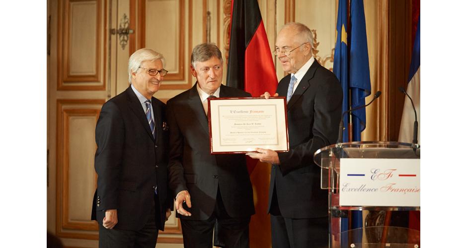 Dr. Kurt W Liedtke Président de la Fondation Robert Bosch
