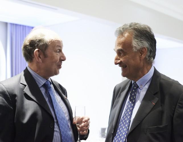 Pierre-François Forissier et Jacques Hardelay