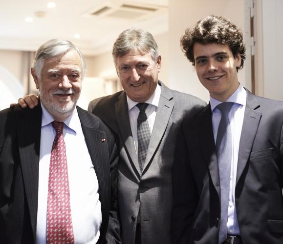 Pr. Yves Coppens et Quentin Coppens